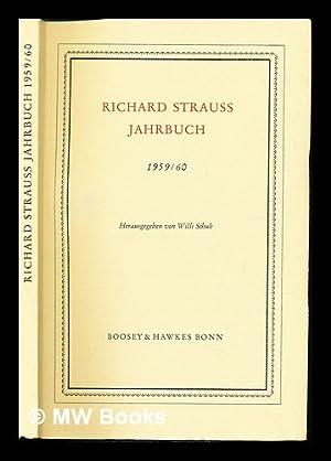 Richard Strauss Jahrbuch (1959/60): Schuh, Willi