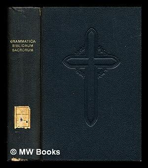 Bibliorum sacrorum iuxta Vulgatam Clementinam nova editio: Gramatica, Aloisius