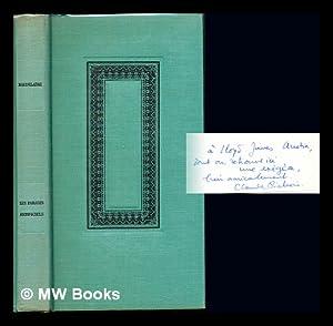 Le paradis artificiels. précédé de la Pipe: Baudelaire, Charles. Pichois,