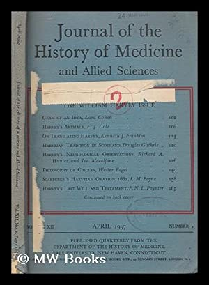 Journal of the History of Medicine and: Fulton, John F.,
