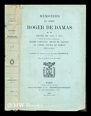 Mémoires du Comte Roger de Damas : Damas d'Antigny, Joseph