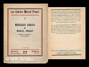 Morceaux Choisis De Marcel Proust, Precedes D'une: Proust, Marcel (1871-1922).