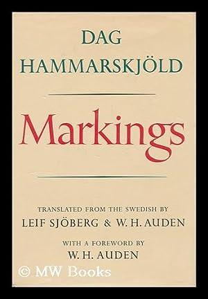 Markings. Translated from the Swedish by Leif: Hammarskjold, Dag (1905-1961)