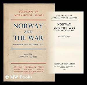 Image for Norway and the War, September 1939-December 1940 (Documents on International Affairs)