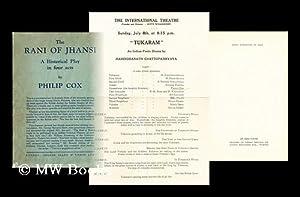 The Rani of Jhansi : a historical: Cox, Philip