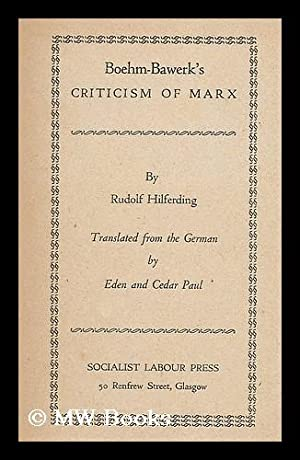 Geschichtliche tat : blatter und satze aus: Marx, Karl (1818-1883)