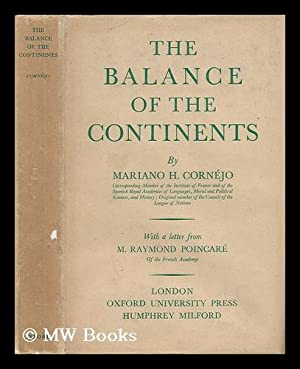 The Balance of the Continents, by Mariano: Cornejo, Mariano Harlan