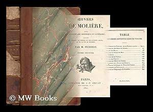 Oeuvres de Moliere : avec un commentaire: Moliere (1622-1673)