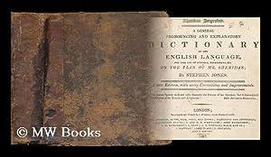 Sheridan improved : a general pronouncing and: Jones, Stephen (1763-1827)