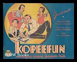Kopeefun Magic Copy Paper Kit: Kopeefun