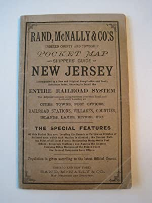 Rand, McNally & Co's Indexed County and Township Pocket Map and Shippers' Guide of New Jersey - S...