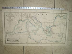 General Chart of the Mediterranean Sea Including the Gulf of Venice, Archipelago and Part of the ...