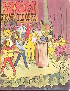 WSM Grand Ole Opry, Official Opry History-Picture Book, 1966, Vol. 3, Edition 1