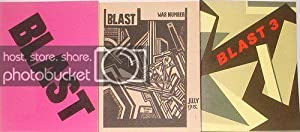 Blast 1, Blast 2 and Blast 3: Lewis, Wyndham [Morrow,
