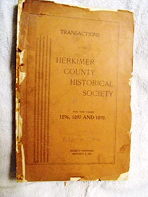 Transactions of the Herkimer County Historical Society for the Years 1896,1897 and 1898: Arthur T. ...