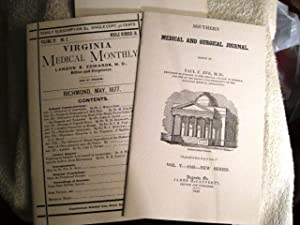 The History of Anesthesiology Reprint Series: Part One (Southern Medical and Surgical Journal, 1849...