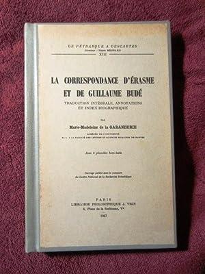 La Correspondance d'Erasme et de Guillaume Bude: Traduction Integrale, Annotations, et Index ...