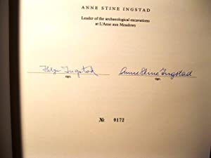 The Viking Discovery of America (Signed by Both Authors): Helge Ingstad and Anne Stine Ingstad