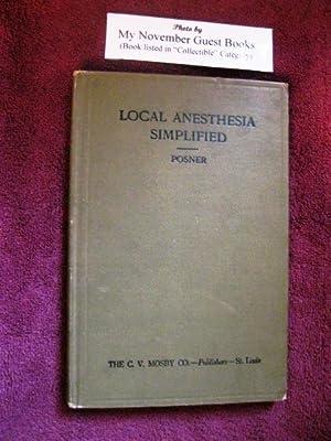 Local Anesthesia Simplified: John Jacob Posner, D.D.S.