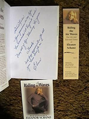 Riding the (Air) Waves (inscribed by author): Eleanor Schano