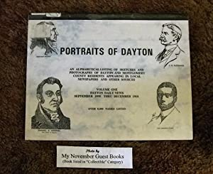 Portraits of Dayton, an Alphabetical Listing of Sketches and Photographs of Dayton and Montgomery ...