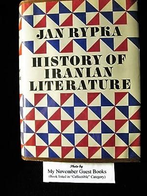 History of Iranian Literature: Jan Rypka, Otakar