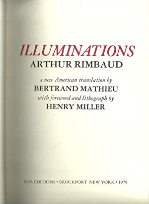 Rimbaud's Illuminations: Arthur Rimbaud [Signed