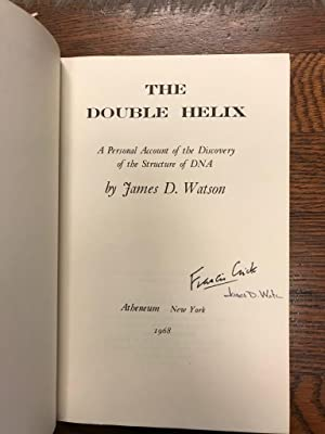 The Double Helix [Signed by James D. Watson & Francis Crick]