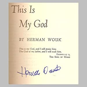 THIS IS MY GOD: WOUK, Herman