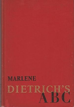 Marlene Dietrich¿s ABC: Dietrich, Marlene