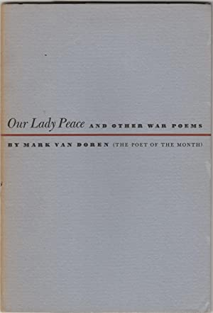 Our Lady Peace and Other War Poems