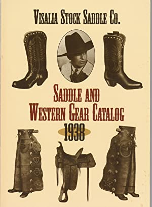 Saddle and Western Gear Catalog, 1938: Visalia Stock Saddle