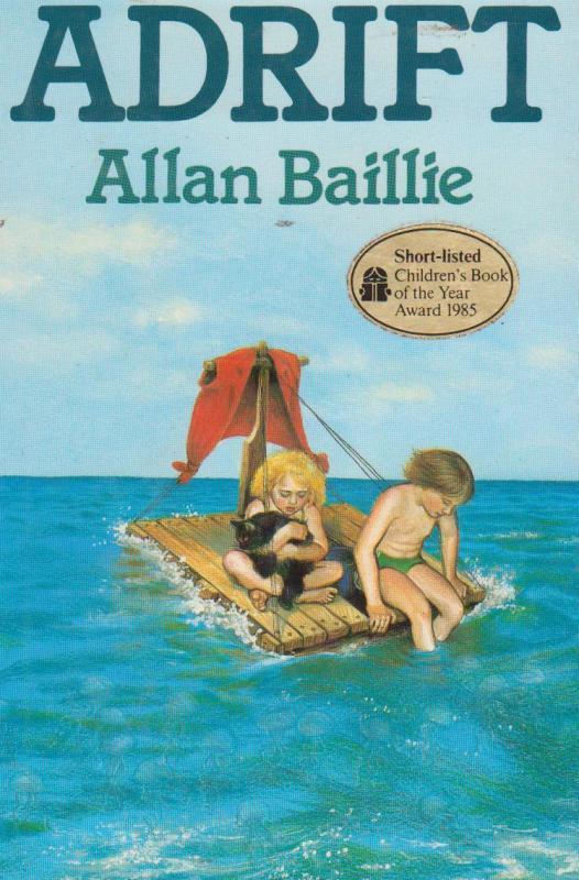 ADRIFT By Alan Baillie Nelson Books Childrens Book Award Thomas