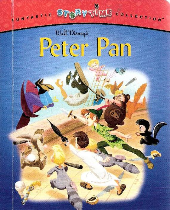 Funtastic storytime collection walt disney 39 s peter pan by for Storybook nanny