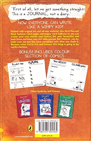 DIARY of a Wimpy Kid Do-It-Yourself Book: Jeff Kinney