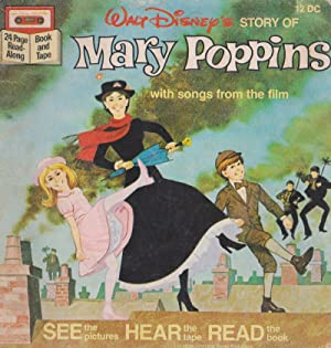 Walt Disney's STORY OF Mary Poppins with songs from the film 12 DC (no tape)