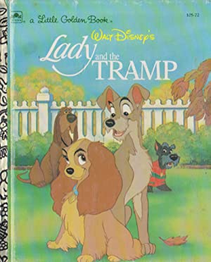 Walt Disney's Lady and the TRAMP (105-72, a Little Goldern Book)