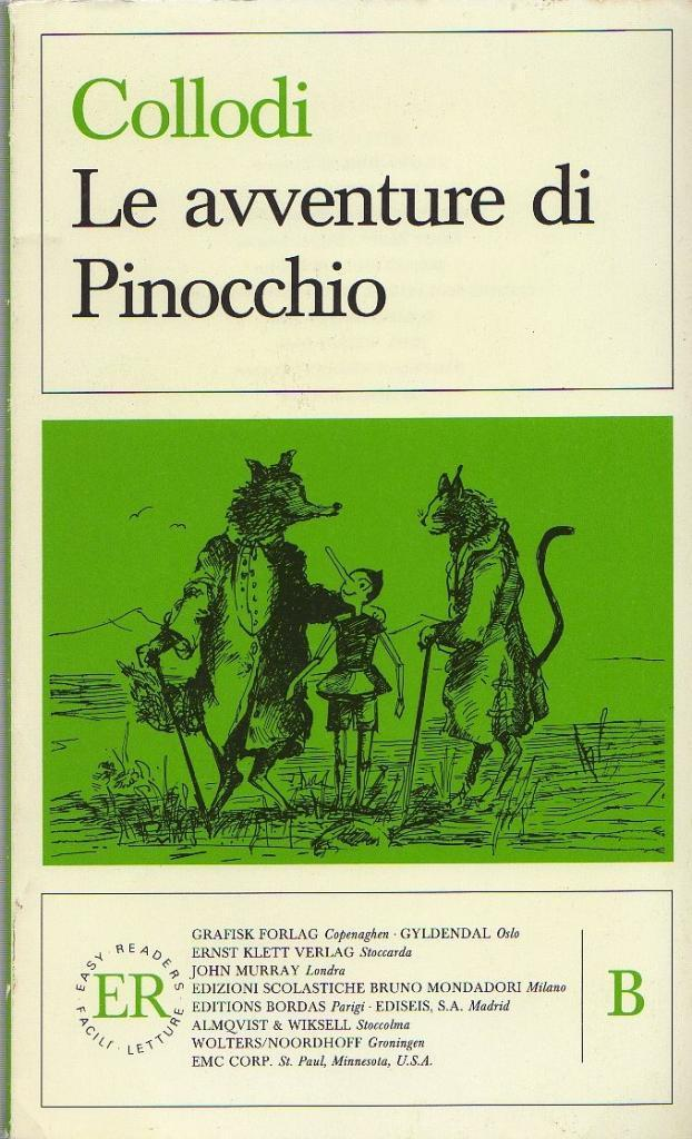 Pinocchio (Easy Reader): Carlo Collodi