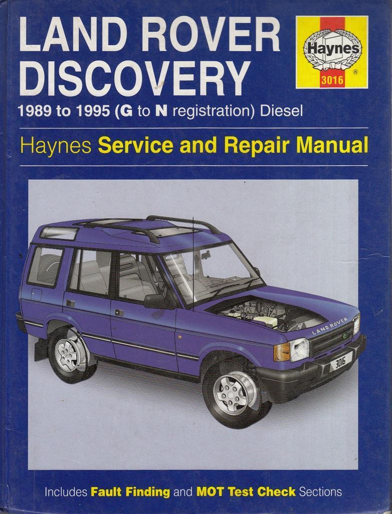 Land rover discovery full service repair manual array land rover discovery diesel service and repair manual haynes rh abebooks com fandeluxe Gallery