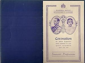 Coronation of their Majesties King George VI