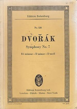 No.526) Symphony No. 7: D minor for Orchestra: Antonin Dvorak