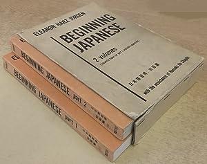 Beginning Japanese (2 volumes): Eleanor Harz Jorden, Hamako Ito Chaplin