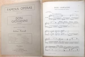Don Giovanni: Selection from the Opera arranged by Arthur Purcell (Famous Operas Book Eight)