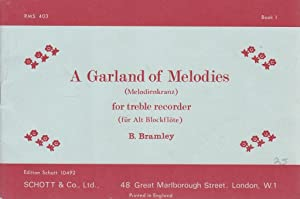 A Garland Of Melodies For The Treble Recorder: Book 1
