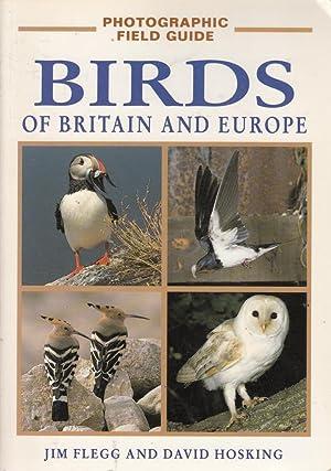 Birds of Britain and Europe (Photographic Field: Jim Flegg