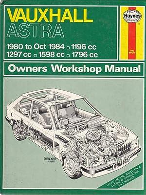 Vauxhall Astra 1980-84 Owners Workshop Manual (Service: Peter G Strasman