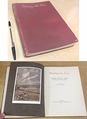 Hunting the Fox . Illustrated by Lionel: Richard Greville Verney