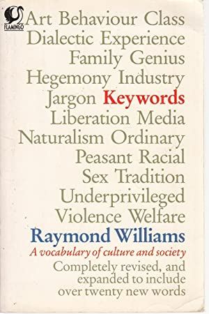 Keywords (Flamingo): Raymond Williams
