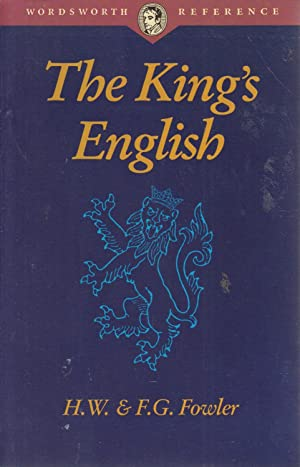 The King's English: Henry W Fowler