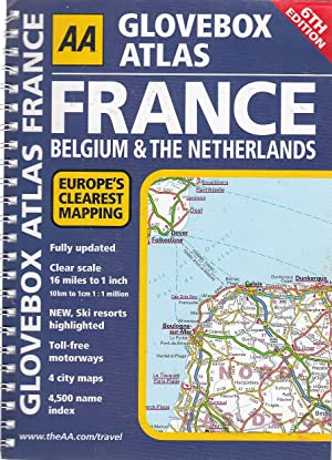 Glovebox Atlas France (AA Atlases and Maps)